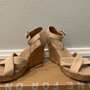 Toms Shoes - Toms Wedge Sandals